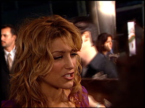 Jennifer Esposito at the 'Collinwood' Premiere at the Cinerama Dome at ArcLight Cinemas in Hollywood California on September 30 2002