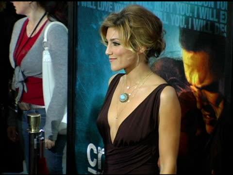 Jennifer Esposito at the 'Crash' Los Angeles Premiere on April 26 2005