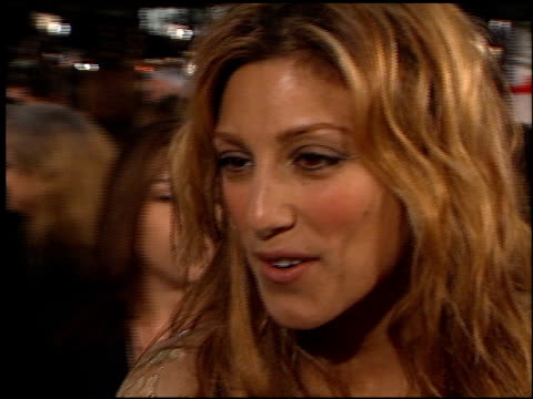 Jennifer Esposito at the 'Oceans 11' Premiere at the Mann Village Theatre in Westwood California on November 5 2001