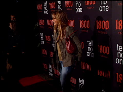 Jennifer Esposito at the Tell No One 1800 Tequilla Talent Party at Chateau Marmont in West Hollywood California on May 2 2002