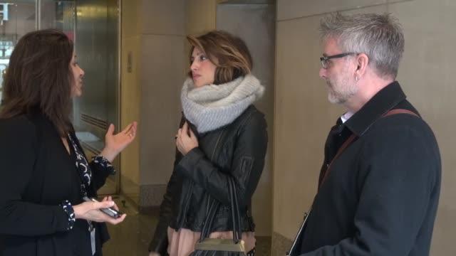 Jennifer Esposito at the 'TODAY' show studio Jennifer Esposito at the 'TODAY' show studio on March 13 2013 in New York New York