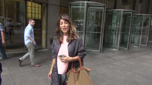 Jennifer Esposito outside of SiriusXM Satellite Radio Celebrity Sightings in New York on June 25 2014 in New York City