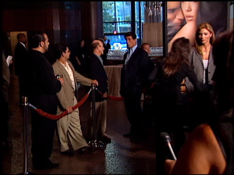 jennifer flavin at the 'original sin' premiere at dga theater in los angeles california on july 31 2001 - dga theater stock videos & royalty-free footage