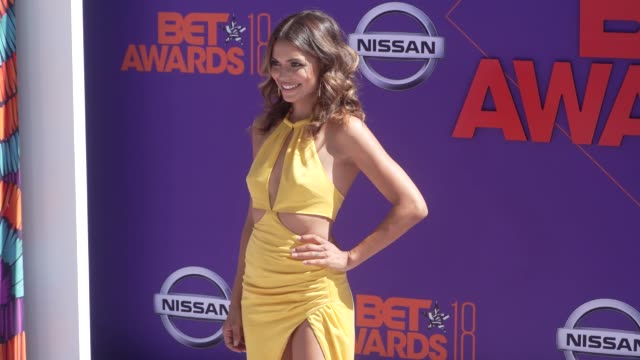 Jennifer Freeman at the 2018 BET Awards at Microsoft Theater on June 24 2018 in Los Angeles California