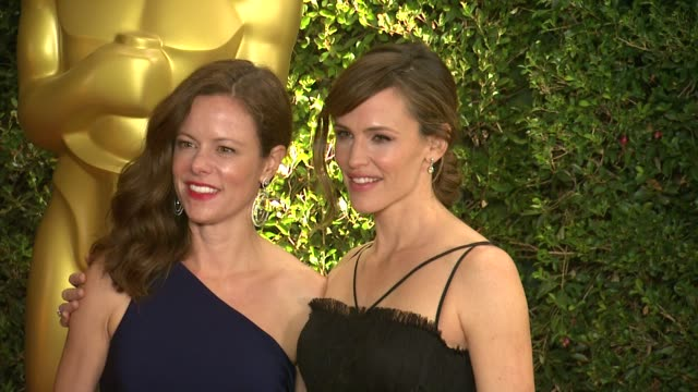 jennifer garner at academy of motion picture arts and sciences' governors awards in hollywood ca on - academy of motion picture arts and sciences stock videos & royalty-free footage