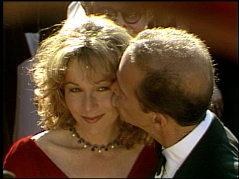 jennifer grey at the 1993 emmy awards entrances at the pasadena civic auditorium in pasadena california on september 19 1993 - pasadena civic auditorium stock videos & royalty-free footage