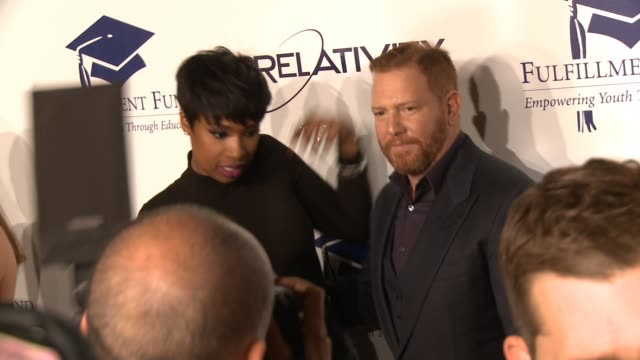 jennifer hudson and ryan kavanaugh at the 20th annual fulfillment fund stars benefit gala red carpet honoring relativity founder and ceo ryan... - direttrice video stock e b–roll