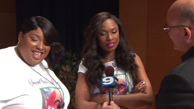 jennifer hudson and sister donated school supplies 5,000 low-income chicago students at an event that honors her late nephew, julian king on august... - school supplies stock videos & royalty-free footage