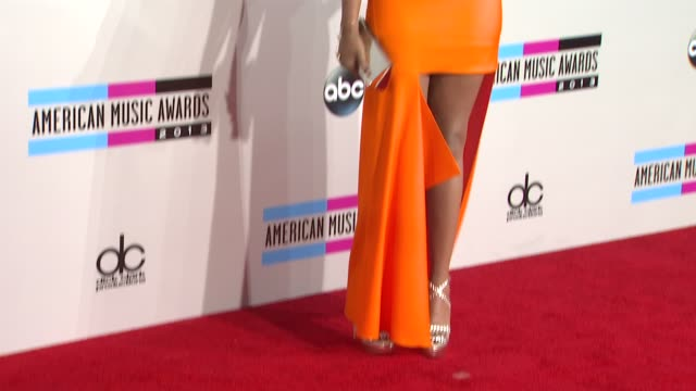 jennifer hudson at 2013 american music awards arrivals in los angeles ca - american music awards stock videos and b-roll footage