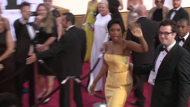 jennifer hudson at 87th annual academy awards arrivals at dolby theatre on february 22 2015 in hollywood california - jennifer hudson stock videos & royalty-free footage