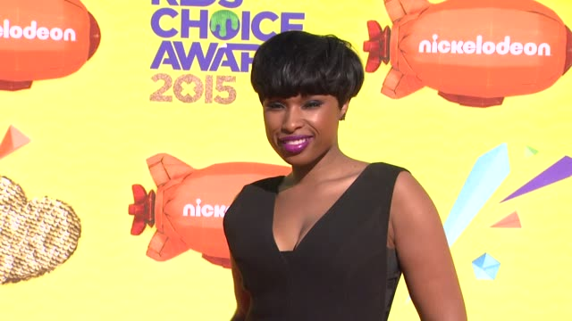 Jennifer Hudson at Nickelodeon's 28th Annual Kids' Choice Awards at The Forum on March 28 2015 in Inglewood California