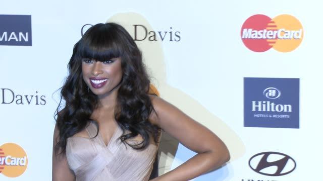 jennifer hudson at pre-grammy gala & salute to industry icons with clive davis honoring antonio l.a. reid 2/9/2013 in beverly hills, ca. - ジェニファー・ハドソン点の映像素材/bロール