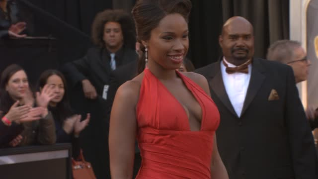 jennifer hudson at the 83rd annual academy awards arrivals pool cam at hollywood ca - jennifer hudson stock videos & royalty-free footage