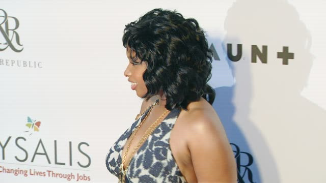 Jennifer Hudson at the Chrysalis Butterfly Ball at a private residence in Los Angeles California on June 2 2007