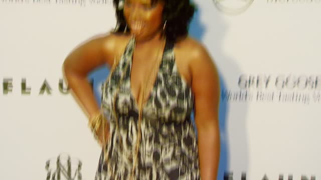 jennifer hudson at the chrysalis butterfly ball at a private residence in los angeles, california on june 2, 2007. - jennifer hudson stock videos & royalty-free footage