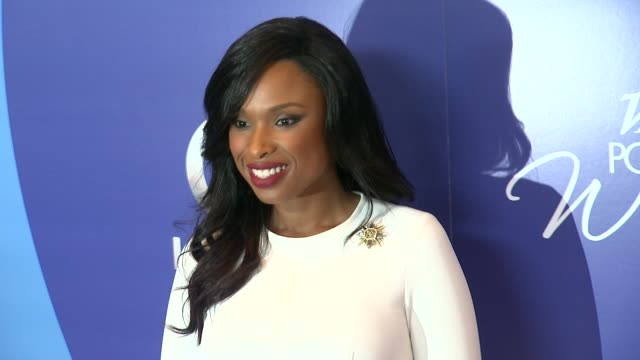 jennifer hudson at variety's 5th annual power of women event in beverly hills, ca, on 10/4/13. - ジェニファー・ハドソン点の映像素材/bロール