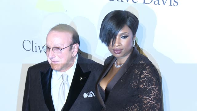 jennifer hudson, clive davis, nancy pelosi, and paul pelosi at the 2017 pre-grammy gala honoring debra l. lee with grammy salute to industry icons... - clive davis stock videos & royalty-free footage