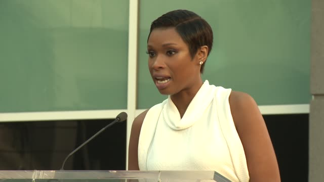 CLEAN – Jennifer Hudson Honored With Star on the Hollywood Walk of Fame