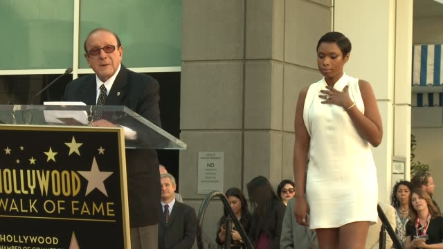 CHYRON – Jennifer Hudson Honored With Star on the Hollywood Walk of Fame