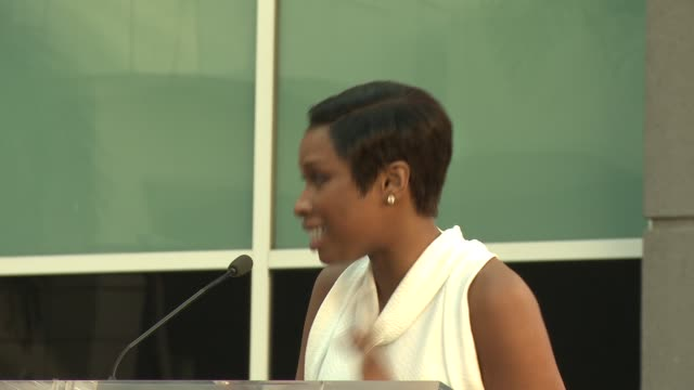 SPEECH – Jennifer Hudson on receiving her star at Jennifer Hudson Honored With Star on the Hollywood Walk of Fame