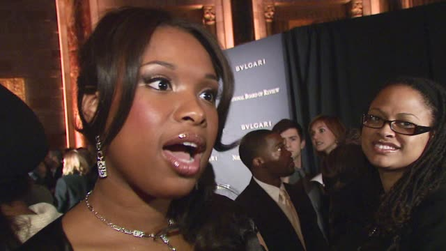 Jennifer Hudson wearing Prada talks about being recognized by the National Board of Review being the 'breakout star' of 2006 what it means to be the...