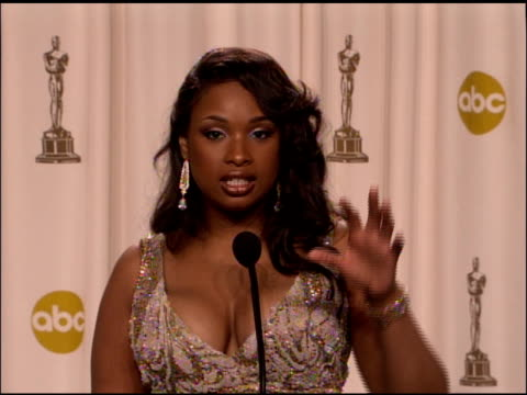 Jennifer Hudson winner Best Actress in a Supporting Role for �Dreamgirls� at the 2007 Academy Awards at the Kodak Theatre in Hollywood California on...