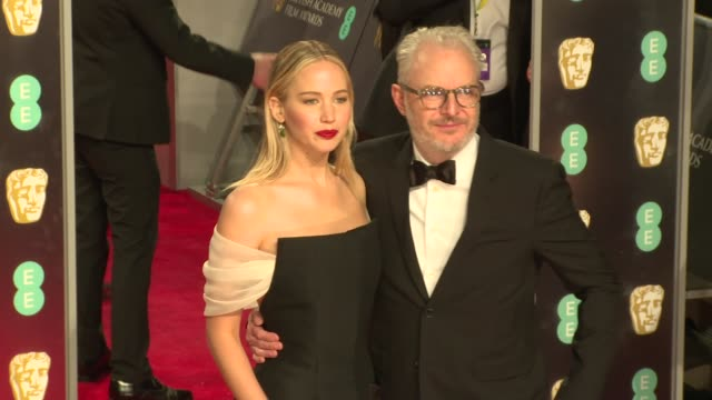Jennifer Lawrence at Royal Albert Hall on February 18 2018 in London England