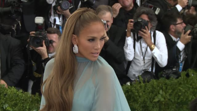 Jennifer Lopez Alex Rodriguez at 'Rei Kawakubo/Comme des Garcons Art Of The InBetween' Costume Institute Gala Arrivals at The Metropolitan Museum of...