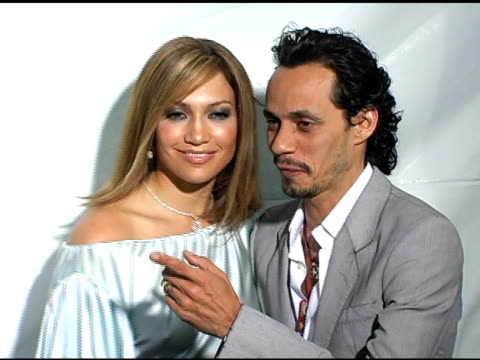Jennifer Lopez and Marc Anthony at the 'MonsterInLaw' Los Angeles Premiere on April 28 2005