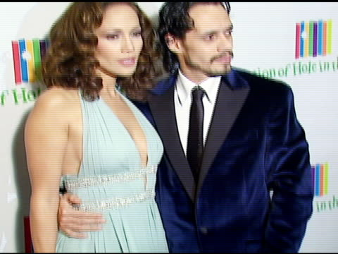 Jennifer Lopez and Marc Anthony at the Singers and Songs Celebration of Tony Bennett's 80th Birthday By Raising Funds for Newmans 'Hole in the Wall...