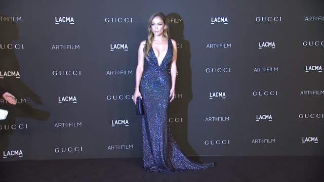 Jennifer Lopez at 2014 LACMA ArtFilm Gala Honoring Barbara Kruger And Quentin Tarantino Presented By Gucci in Los Angeles CA