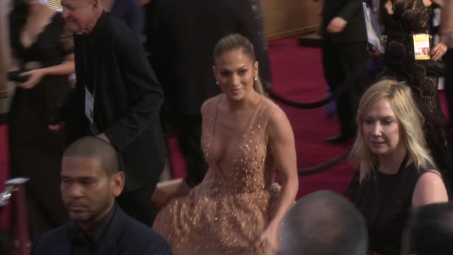 Jennifer Lopez at 87th Annual Academy Awards Arrivals at Dolby Theatre on February 22 2015 in Hollywood California