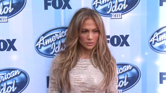 Jennifer Lopez at American Idol XIII 2014 Finale at Nokia Theatre LA Live on May 21 2014 in Los Angeles California