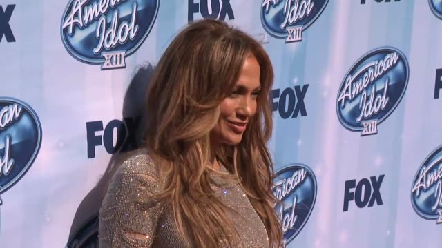 jennifer lopez at american idol xiii 2014 finale at nokia theatre l.a. live on may 21, 2014 in los angeles, california. - american idol stock videos & royalty-free footage