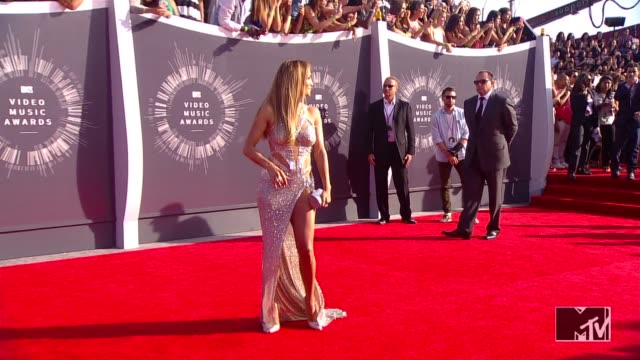 Jennifer Lopez at the 2014 MTV Video Music Awards at The Forum on August 24 2014 in Inglewood California