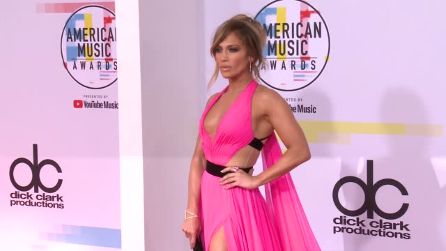 jennifer lopez at the 2018 american music awards at microsoft theater on october 09 2018 in los angeles california - american music awards stock videos & royalty-free footage