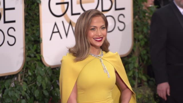 Jennifer Lopez at the 73rd Annual Golden Globe Awards Arrivals at The Beverly Hilton Hotel on January 10 2016 in Beverly Hills California 4K