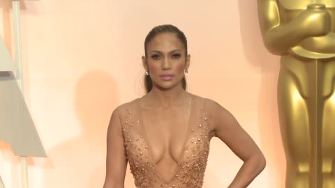 jennifer lopez at the 87th annual academy awards - arrivals at dolby theatre on february 22, 2015 in hollywood, california. - academy of motion picture arts and sciences stock videos & royalty-free footage