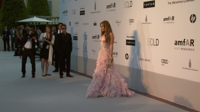 Jennifer Lopez at the amfAR Cinema Against AIDS Gala at Antibes