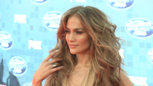 jennifer lopez at the fox's 'american idol 2011' finale results show at los angeles ca - jennifer lopez stock videos & royalty-free footage