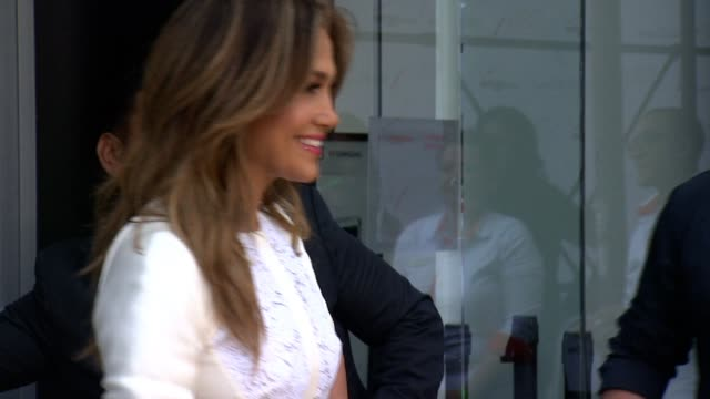 jennifer lopez at viva movil by jennifer lopez celebrates flagship store in brooklyn, ny?on june 26, 2013 in viva mobil store, brooklyn, new york - short sleeved stock videos & royalty-free footage