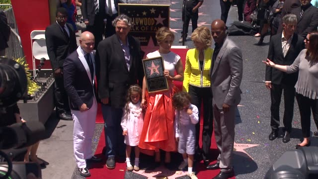 jennifer lopez jane fonda keenan ivory wayans pitbull and gregory nava at jennifer lopez honored with star on the hollywood walk of fame jennifer... - walk of fame stock videos & royalty-free footage