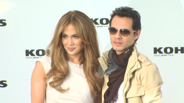 Jennifer Lopez Marc Anthony Announce Plans To Launch Two Exclusive Lifestyle Brands At Kohl's Department Stores West Hollywood CA United States...