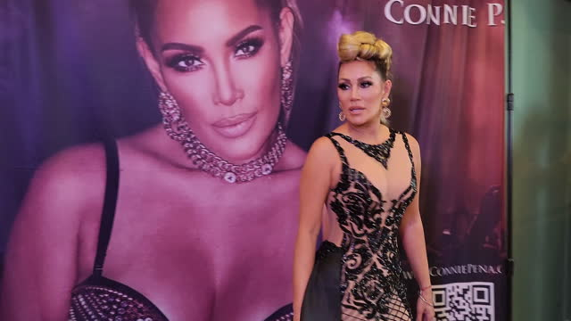 """jennifer lopez tribute artist connie pena attends the debut of her music video """"clasico"""" at blume kitchen & cocktails on july 19, 2021 in henderson,... - long hair stock videos & royalty-free footage"""