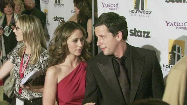 jennifer love hewitt and ross mccall at the 12th annual hollywood film festival hollywood awards gala at los angeles ca - jennifer love hewitt stock videos & royalty-free footage