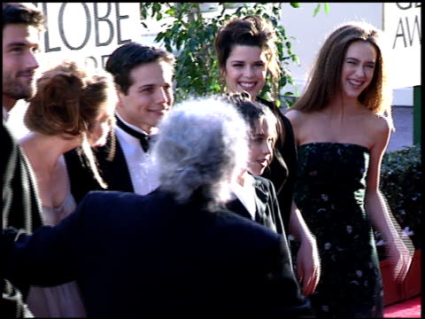 jennifer love hewitt at the 1997 golden globe awards at the beverly hilton in beverly hills california on january 19 1997 - jennifer love hewitt stock videos & royalty-free footage