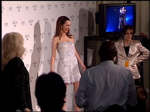 jennifer love hewitt at the american music awards 1998 at the shrine auditorium in los angeles california on january 26 1998 - jennifer love hewitt stock videos & royalty-free footage
