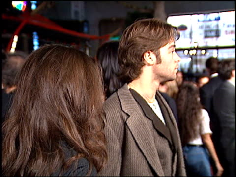 jennifer love hewitt at the 'biodome' premiere at grauman's chinese theatre in hollywood california on january 11 1996 - jennifer love hewitt stock videos & royalty-free footage