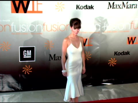 jennifer love hewitt at the fusion the 2005 crystal and lucy awards presented by women in film at the beverly hilton in beverly hills california on... - jennifer love hewitt stock videos & royalty-free footage