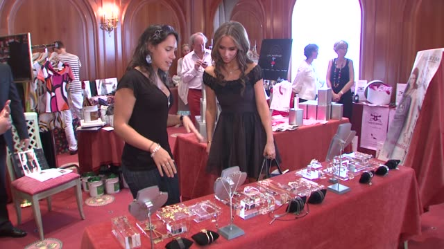 jennifer love hewitt at the monte carlo television festival 2009 - day 2 - gift lounge at monaco . - day 2 stock videos & royalty-free footage